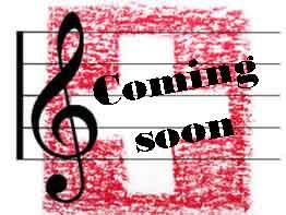 Kinderlieder schweizerdeutsch - Notenschlüssel und CH-Fahne - coming soon